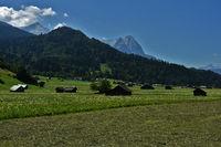 Wettersteingebirge bei Garmisch-Partenkirchen, Bayern, Deutschland