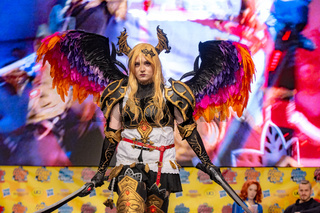 DORTMUND, GERMANY - December 1st 2018: Cosplayer nica_cosplay_de at German Comic Con Dortmund