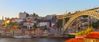 Panorama Porto Old Town, Portugal