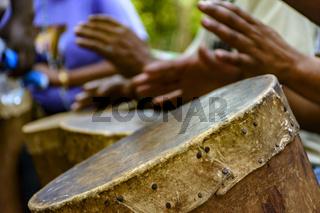 Afro-brazilian cultural manifestation