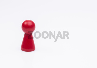 Rote Spielfigur