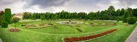 Anpflanzung in Schönnbrunn als Panorama