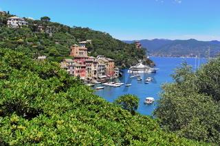 Portofino Hafenbucht
