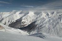 Mountains in the Alps