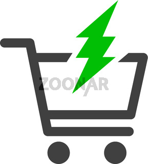 Vector Proceed Purchase Flat Icon Symbol