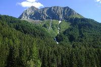 Der markante Gipfel des Hörnle, Prettau, Tauferer Ahrntal, Südtirol