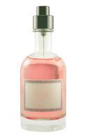 Isolated Perfume Bottle