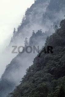 Mountain, Bergabhang