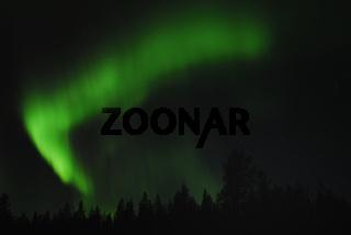 Nordlicht (Aurora borealis) bei Gaellivare, Lappland