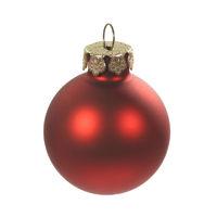Christbaumkugel rot - red christmas bulb
