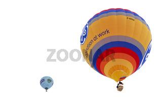 Heissluftballon F-GSGE, Sponsor GE Energy Products