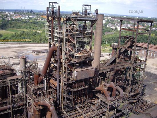 Hoesch Dortmund Luftbild