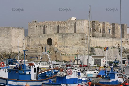 Burg in Tarifa. Andalusien