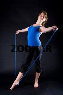 Turnen mit Seil
