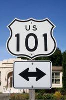 Highway 101 Nord Kalifornien