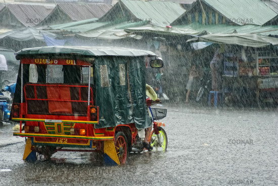Inundation in Phnom Penh, Cambodia