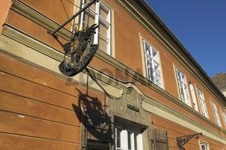 Budapest, Apothekenmuseum in der Arany-Sas-patika am Dísz tér