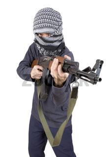 Realistic terrorist