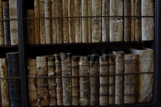 Mallorca Valldemossa Kloster alte Bücher