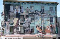 Wandgemälde - San Francisco