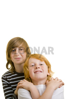 Zwei Geschwister