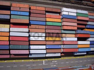 Luftbild Container Dortmund