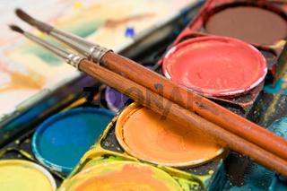 Wasserfarben (Detail)