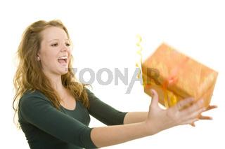 Geschenk fangen