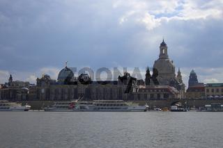 Der moderne Canaletto-Blick in Dresden