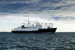 Hurtigroutenschiff