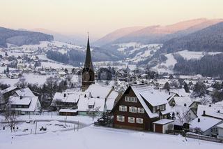 Baiersbronn, Nordschwarzwald, Winter, Deutschland, Germany, Northern Schwarzwald, Winter