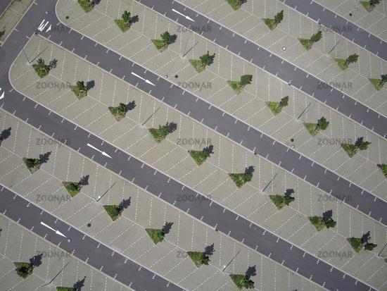 Luftbild Parkplatz Dortmund