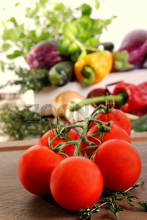 Ratatouille-Gemüse
