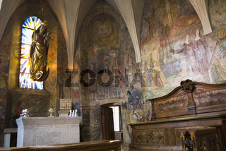 Altar der Klosterkirche St. Johann im Gnadenthal