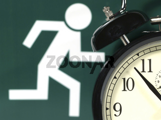 gegen die Zeit | versus the time