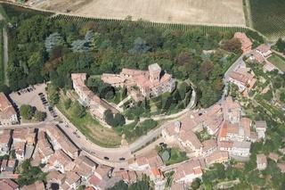 Cigognola castle