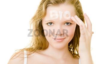 Biologische Hautpflege