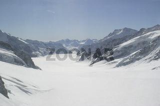 Jungfraujoch, Schweiz, Switzerland, Swiss Alps, Europe Aletsch-Gletscher