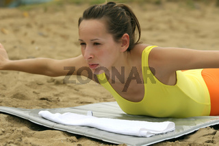 Fitness übung für den Rücken