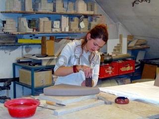 Töpferei, Pottery, Keramik, Kacheln bauen