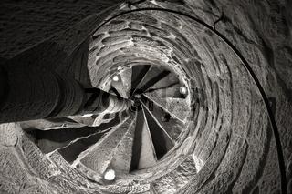irrlichter - runder Treppenaufgang