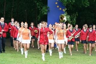 Spielmannszug, Musikkapelle beim Musikfestival