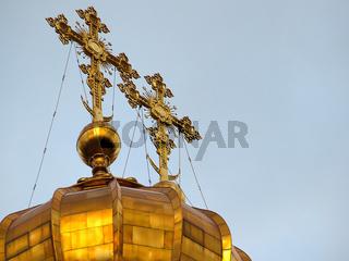 Kreuze auf der Christ-Erlöser-Kathedrale
