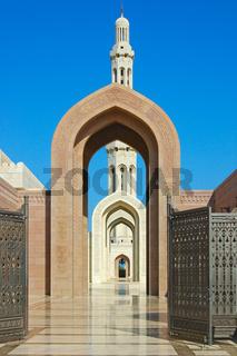 Sultan Qaboos Moschee, Oman