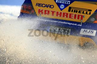 verblasen (Rallye-Detail)