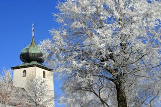 Dorfkirche in Nordostbayern