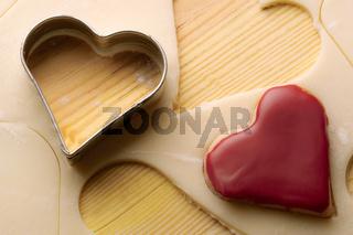 Plätzchen Herzen
