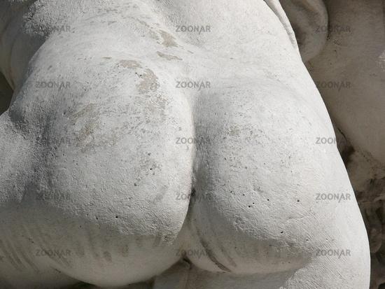 Steinskulpur Detailaufnahme