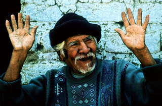 old man in peru / Alter Mann in Peru