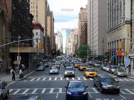 Verkehr in New York - Traffic at Big Apple NYC